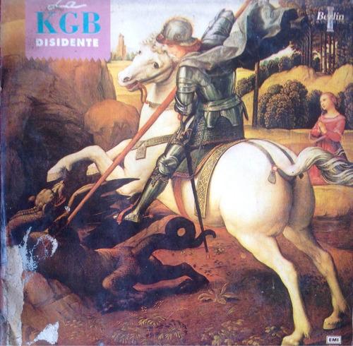 lp vinilo la kgb - disidente - 1988