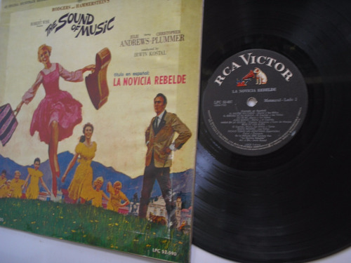 lp vinilo la novicia rebelde banda sonora original pelicula
