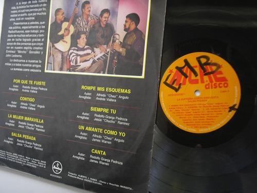 lp vinilo la suprema corte salsa pesada  edic colombia 1991