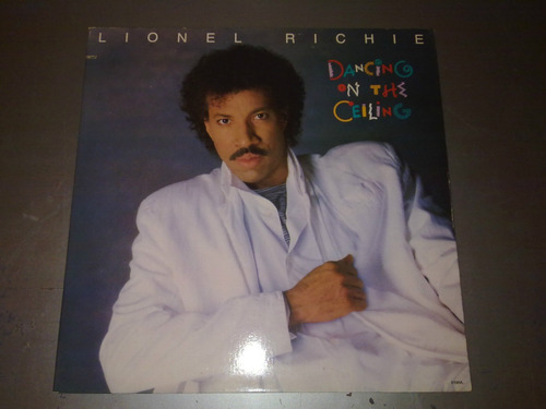 lp vinilo lionel richie dancing on the ceiling made in usa