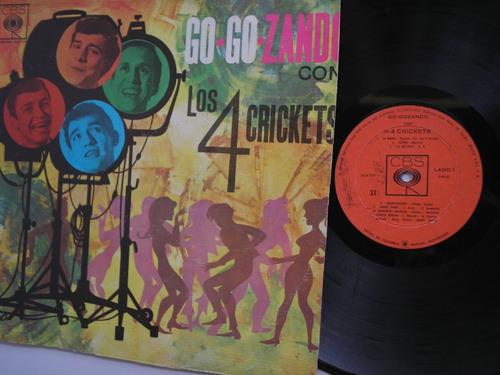 lp vinilo los 4 crickects go.go.zando colombia 1967