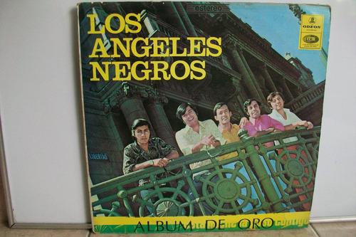 lp vinilo los ángeles negros álbum de oro