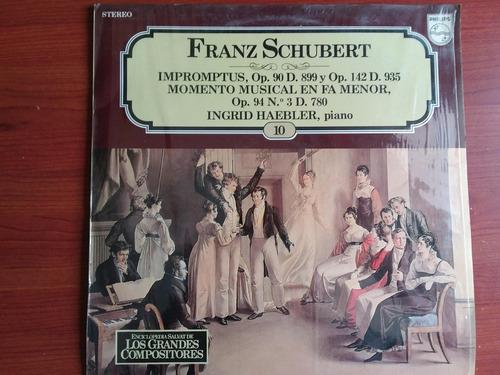 lp vinilo los grandes compositores #10 - franz schubert