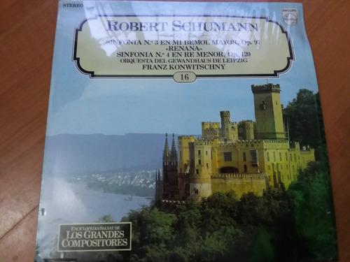 lp vinilo los grandes compositores #16 - robert shumann