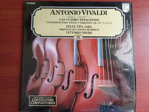 lp vinilo los grandes compositores #22 - antonio vivaldi