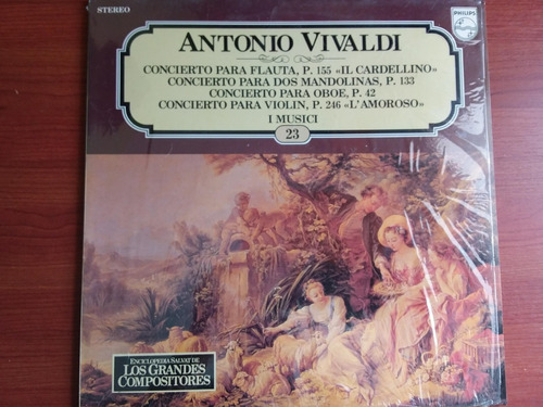 lp vinilo los grandes compositores #23 - antonio vivaldi