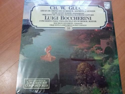 lp vinilo los grandes compositores #31 - ch. w. gluck