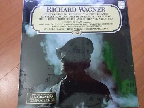 lp vinilo los grandes compositores #42 - richard wagner