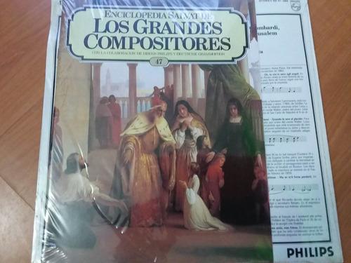 lp vinilo los grandes compositores #47 - giuseppe verdi