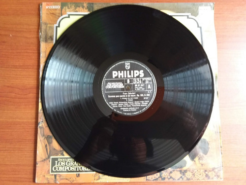 lp vinilo los grandes compositores #8 - franz schubert