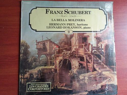 lp vinilo los grandes compositores #9 - franz schubert