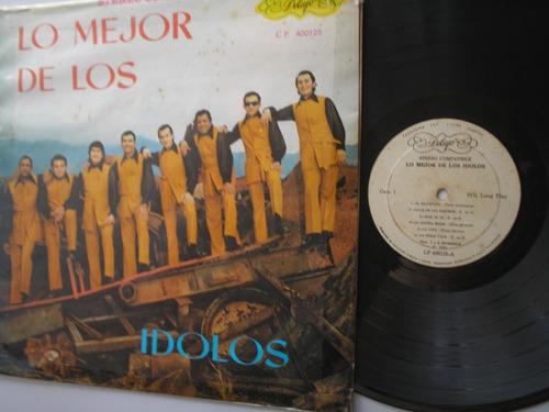 lp vinilo los idolos lo mejor colombia 1973