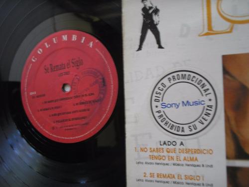 lp vinilo los tres se remata el siglo promo colombia 1994