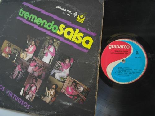 lp vinilo los virtuosos tremenda salsa colombia