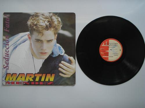 lp vinilo martin mendez seduccion fatal 1994