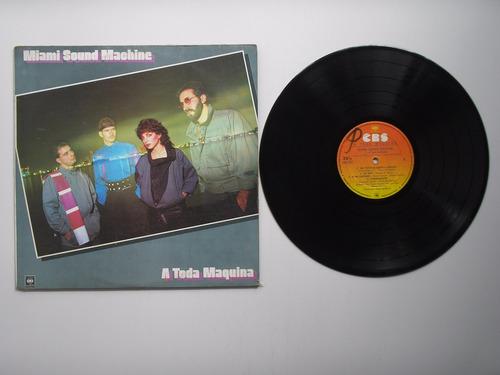 lp vinilo miami sound machine a toda maquina colombia 1984