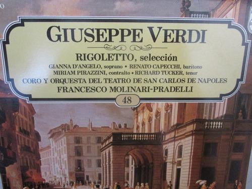 lp vinilo musica clasica giuseppe verdi rigoletto