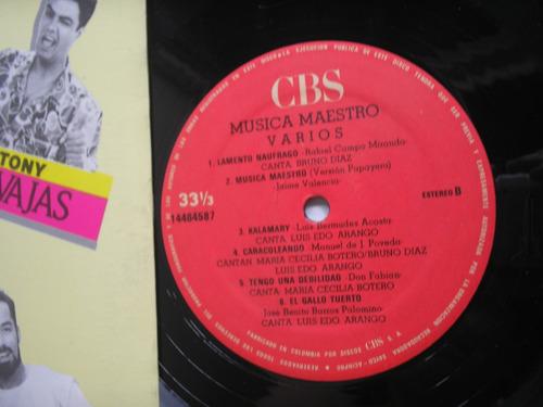 lp vinilo musica maestro banda sonora original telenovela