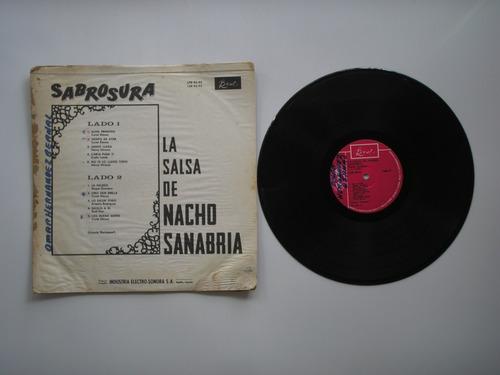 lp vinilo nacho sanabria orquesta la salsa sabrosura colombi