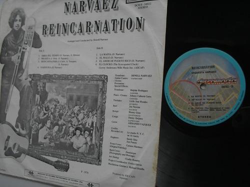 lp vinilo orquesta narvaez reincarnation edic colombia 1976