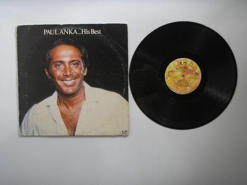 lp vinilo paul anka his best  prrinted usa 1977