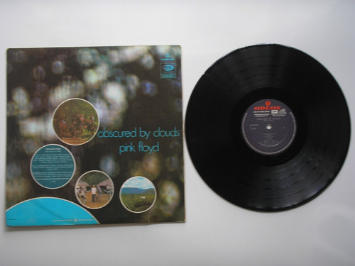 lp vinilo pink floyd obscured by clouds 1972