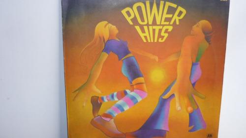 lp vinilo power hits - varios interpretes