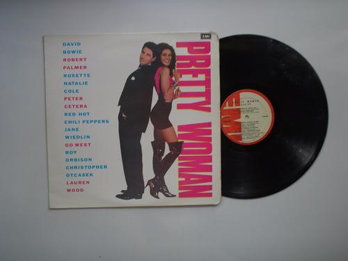 lp vinilo pretty woman  varios banda sonora pelicula col1990