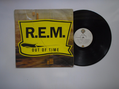 lp vinilo  r e m out of time printed colombia 1992