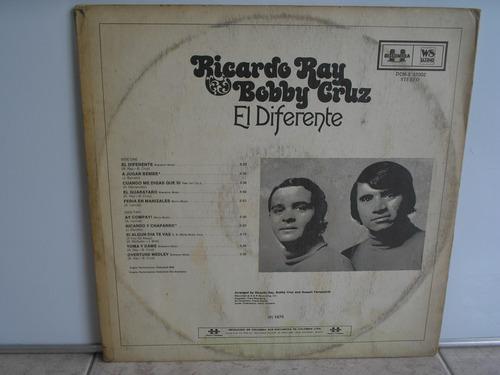 lp vinilo ricardo ray bobby cruz el diferente 1976