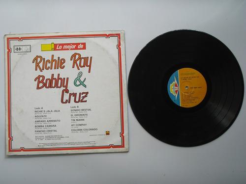 lp vinilo richie ray & bobby cruz lo mejor 1987