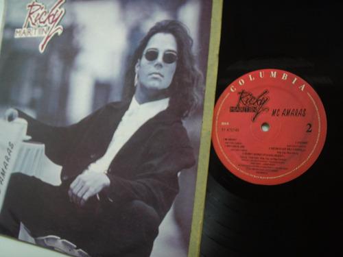 lp vinilo ricky martin me amaras edicion colombia 1993