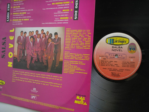 lp vinilo salsa novel preso de tu amor colombia 1994