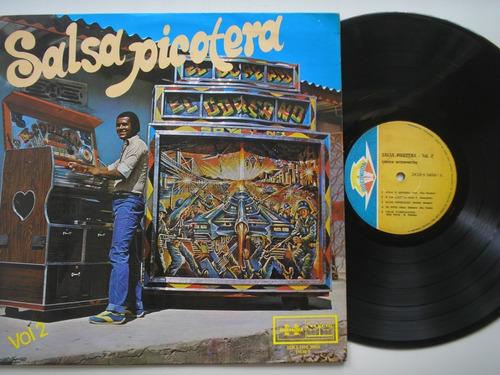 lp vinilo salsa picotera volumen 2 edicion colombia 1980