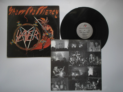 lp vinilo slayer show no mercy metal blade rec prin usa 1983