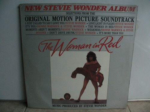 lp vinilo stevie wonder the woman in red