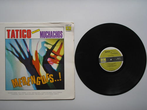 lp vinilo tatico y sus muchachos merengues printed usa 1982