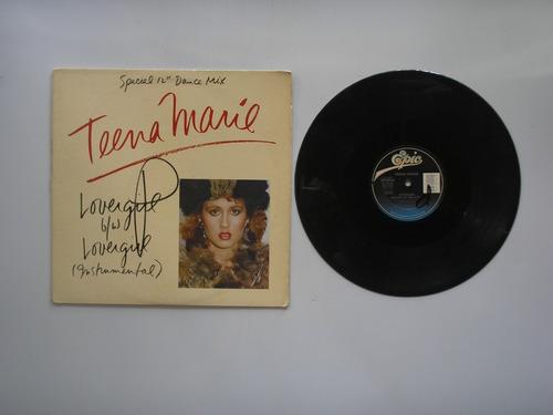 lp vinilo teena mary lovergirl  printed usa 1984