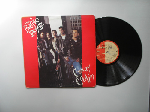 lp vinilo the barrio boyzz crazy coolin  promo colombia 1992