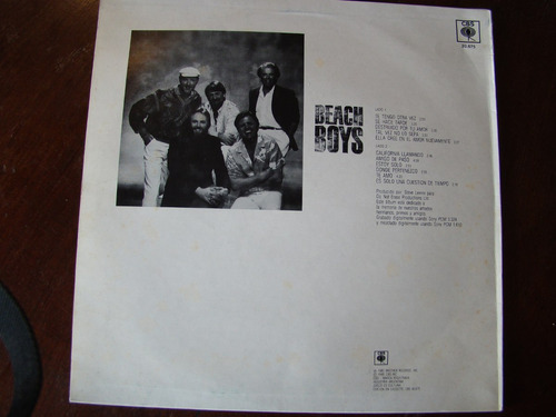 lp vinilo the beach boys - edición nacional 1985