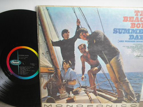 lp vinilo the beach boys summer days and summer nights