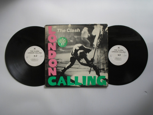 lp vinilo the clash london calling 2 lps prin inglaterra1979