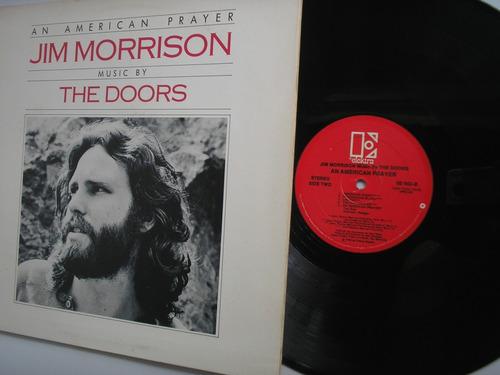 lp vinilo the doors an american prayer printed usa 1978