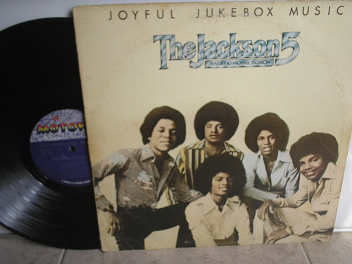 lp vinilo the jackson 5 joyful jukebos music print usa 1976