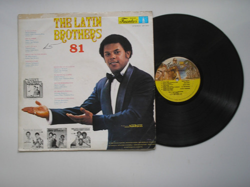 lp vinilo the latin brothers 81-1980