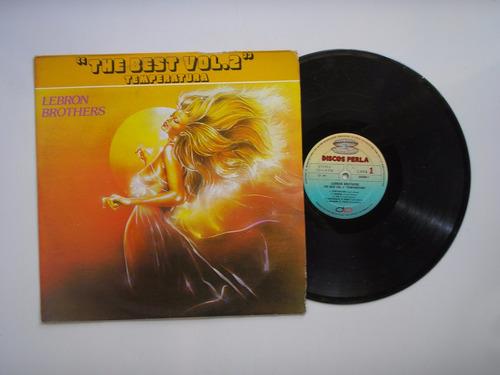 lp vinilo the lebron brothers the best vol2 temperatura 1987