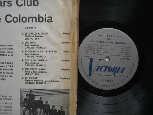 lp vinilo the new star club de fiesta