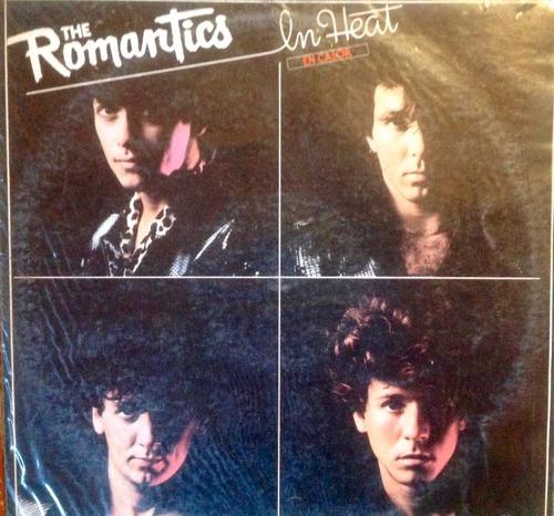 lp vinilo the romantics - in heat