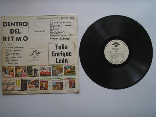 lp vinilo tulio enrique leon dentro del ritmo volumen 2