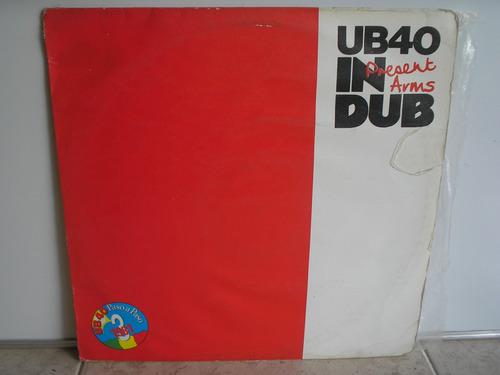 lp vinilo ub40  present arms  in dub
